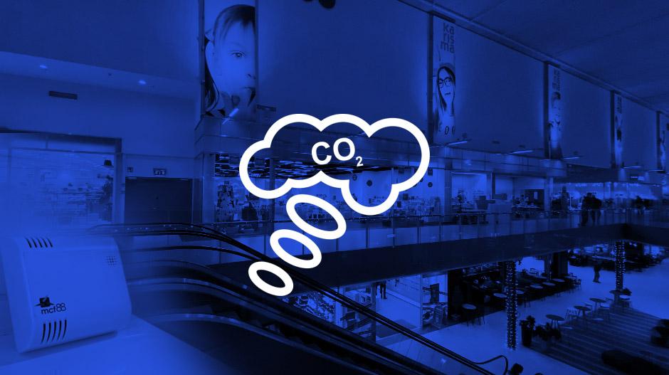 Hiilidioksidisensori sisäilman mittaukseen